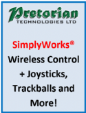 Pretorian SimplyWorks wireless control